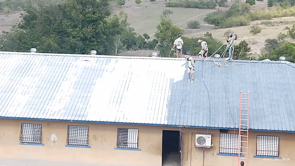 Orphanage Receives New Roof Coating